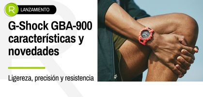 ¡Nuevo reloj deportivo G-Shock GBA-900, te descubrimos todos sus puntos fuertes!