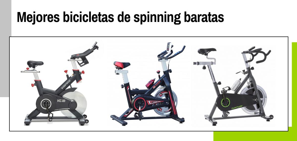 Las 8 mejores bicicletas de spinning para entrenar en casa a buen precio