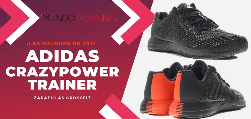 Zapatillas de crossfit más destacadas de 2021 - adidas CrazyPower Trainer