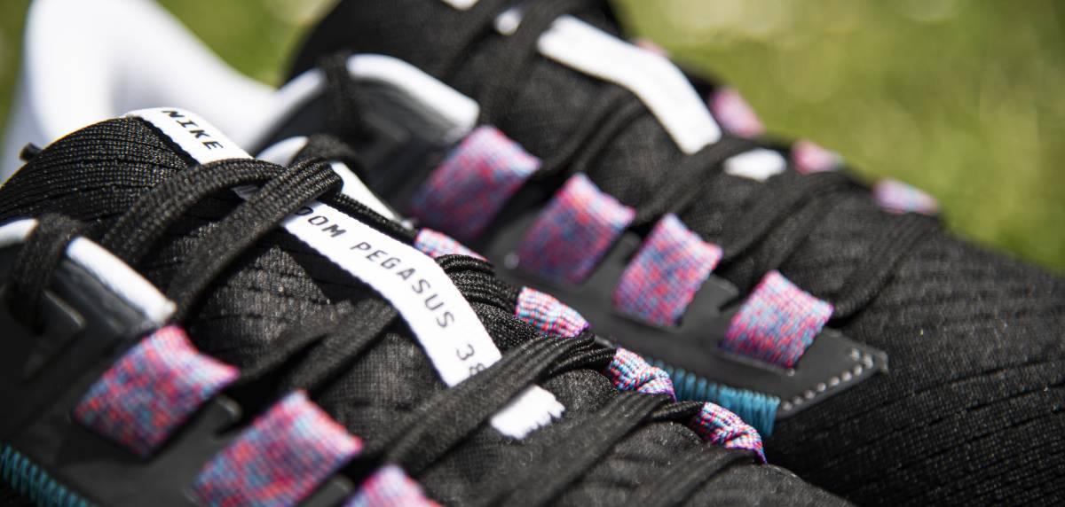 Review Nike Pegasus 38, upper