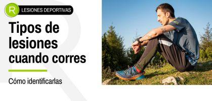 Tipos de lesiones deportivas que puedes sufrir al correr y cómo identificarlas