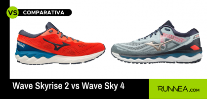 Wave Skyrise 2 vs Wave Sky 4: las 4 diferencias de las zapatillas de Mizuno