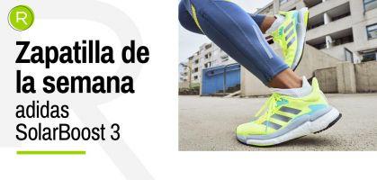 Zapatilla de la semana: adidas SolarBoost 3