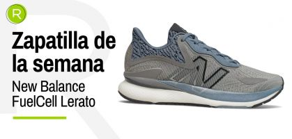 Zapatilla de la semana: New Balance Fuelcell Lerato