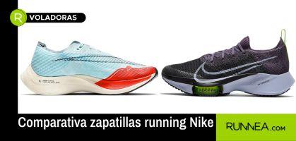 Zapatillas de competición Nike: Cuál elegir ¿Nike ZoomX Vaporfly Next% 2 o Nike Air Zoom Tempo NEXT%?