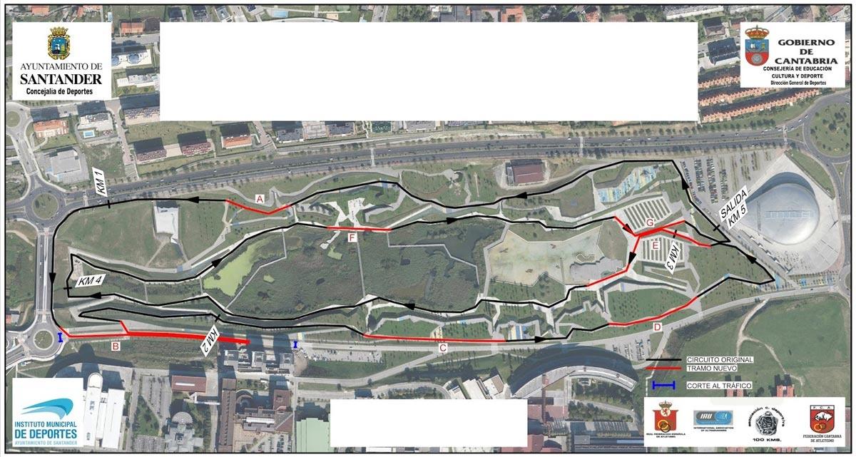 ¿Cómo preparar una prueba de ultra distancia en ruta? Objetivo: 50Km de Santander, mapa recorrido - foto 2