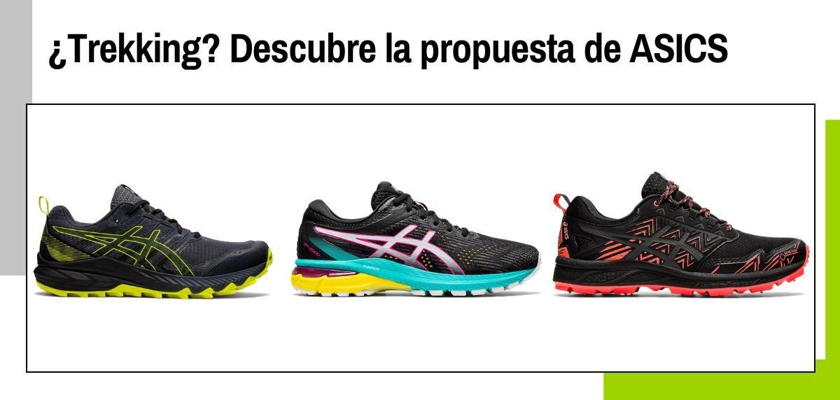 ¿Te gusta el monte pero no correr? Estas zapatillas de trail de ASICS te servirán para andar por montaña