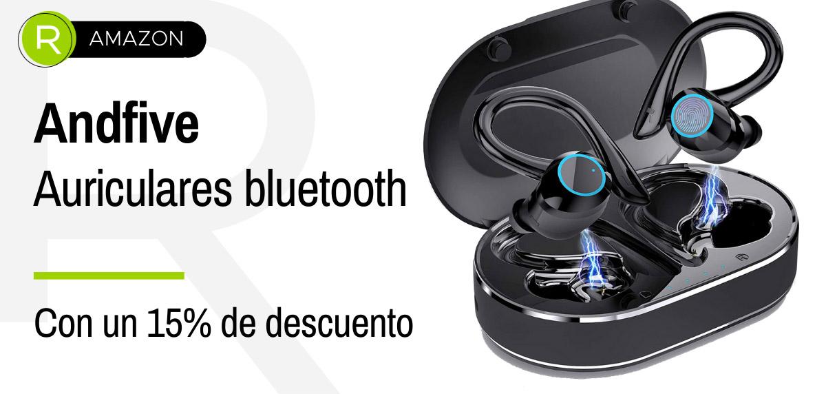 Ofertas anticipadas Amazon Prime Day 2021 - auriculares deportivos Andfive