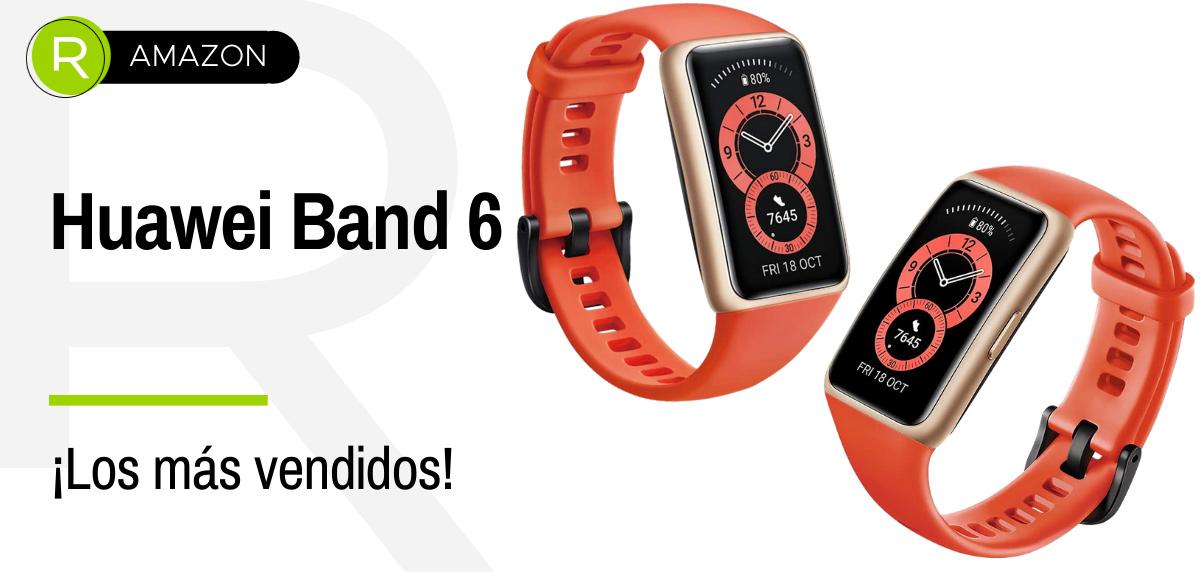 Ofertas de Amazon Prime, productos más vendidos en running - Huawei Band 6