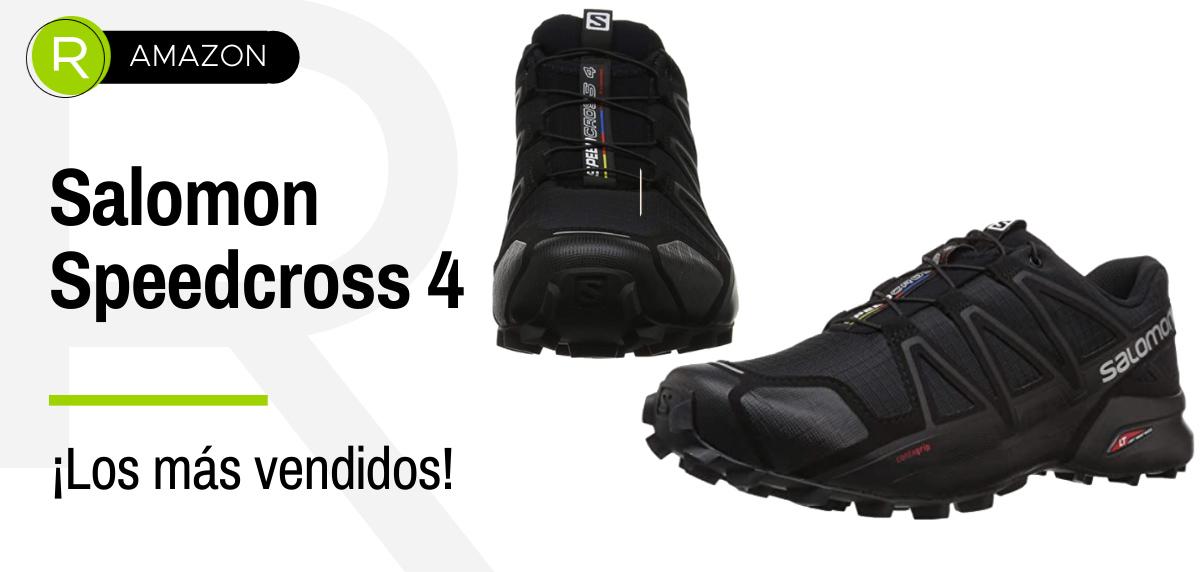 Ofertas de Amazon Prime, productos más vendidos en running - Salomon Speedcross 4