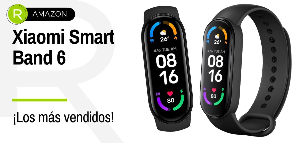 Ofertas de Amazon Prime, productos más vendidos en running - Xiaomi Smart Band 6