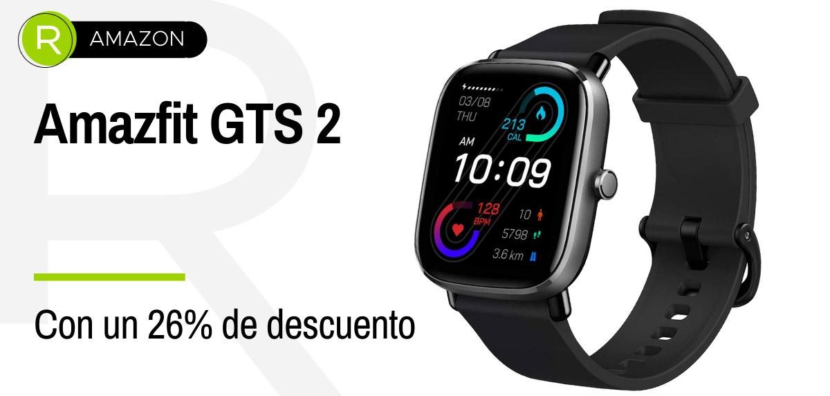 Ofertas anticipadas Amazon Prime Day 2021 - smartwatch Amazfit GTS 2
