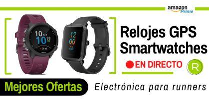 Las mejores ofertas del Amazon Prime Day 2021 en smartwatch y relojes deportivos