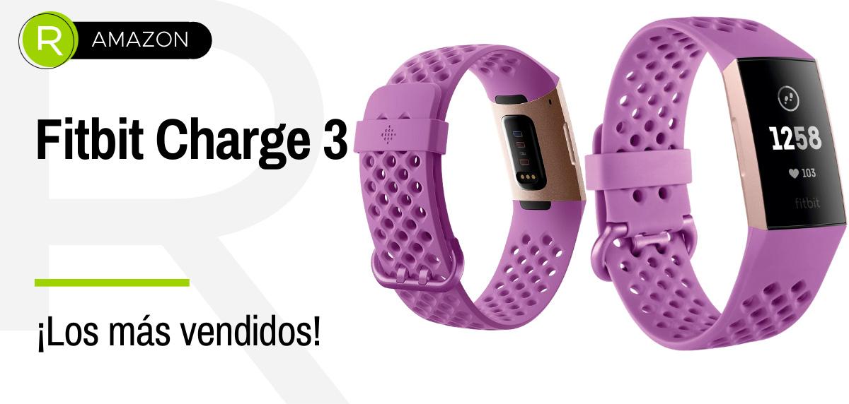 Última hora: Ofertas de Amazon Prime, productos más vendidos en running - Fitbit Charge 3