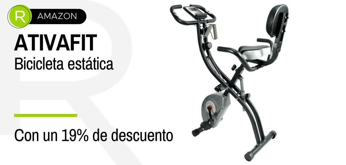 Amazon Prime Day 2021, máquinas fitness - ATIVAFIT bicicleta estática