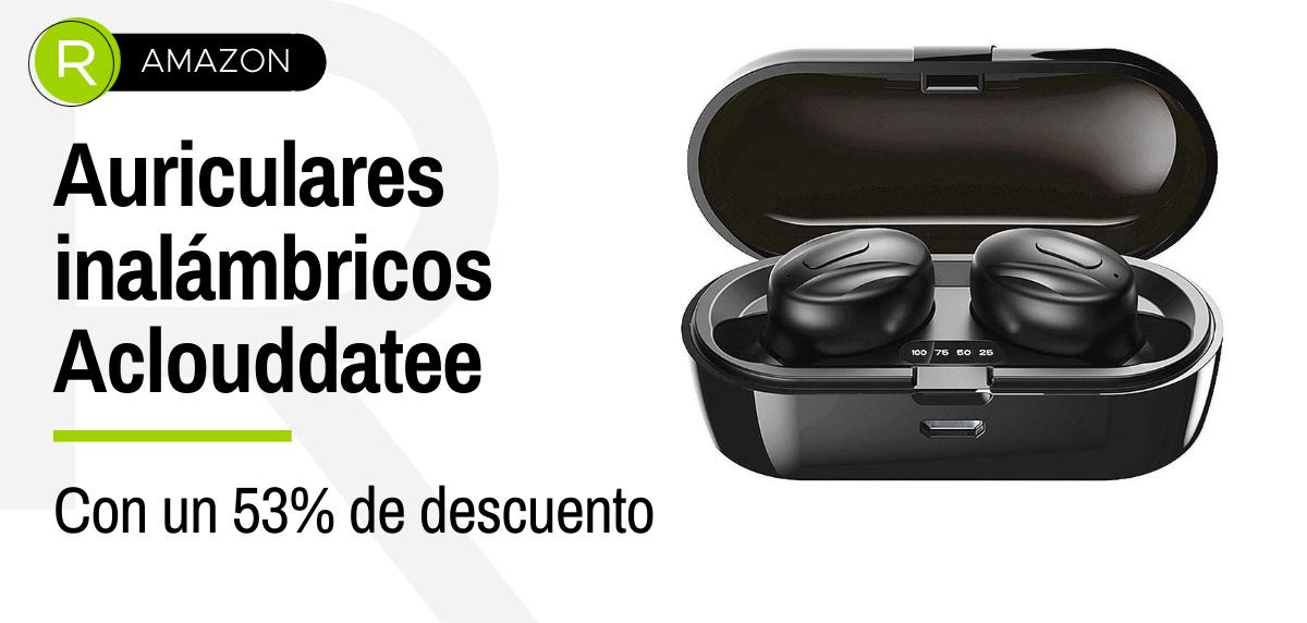 Auriculares inalámbricos Amazon: Oferta Flash