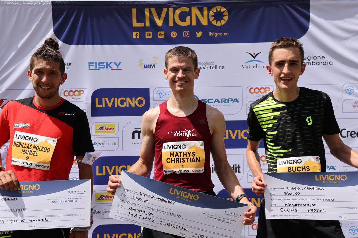 Clasificación Livigno marathon 2021