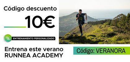 Consigue 10 euros de descuento para entrenar con RUNNEA ACADEMY