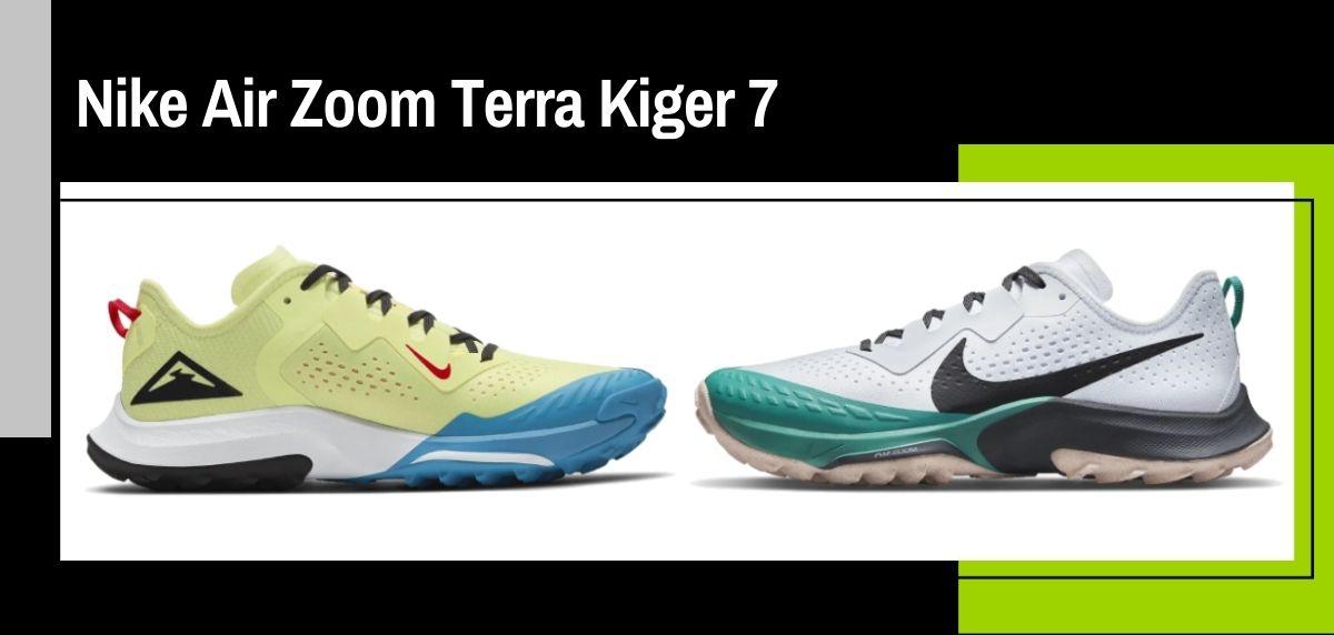 Nike trail running collezione estate 2021, Nike Terra Kiger 7