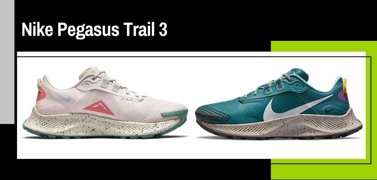 Nike trail running collezione estate 2021, Nike Pegasus Trail 3