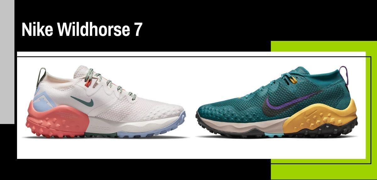 Nike trail running collezione estate 2021, Nike Wildhorse 7