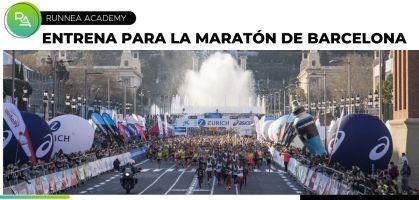 Entrenamiento para la Maratón de Barcelona 2021 con RUNNEA ACADEMY