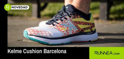 Kelme Cushion Barcelona, la zapatilla de iniciación que estabas esperando para tus primeras sesiones de running