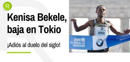 ¡Nos quedamos sin el duelo del siglo! Bekele no correrá el maratón de Tokio y no habrá cara a cara con Kipchoge