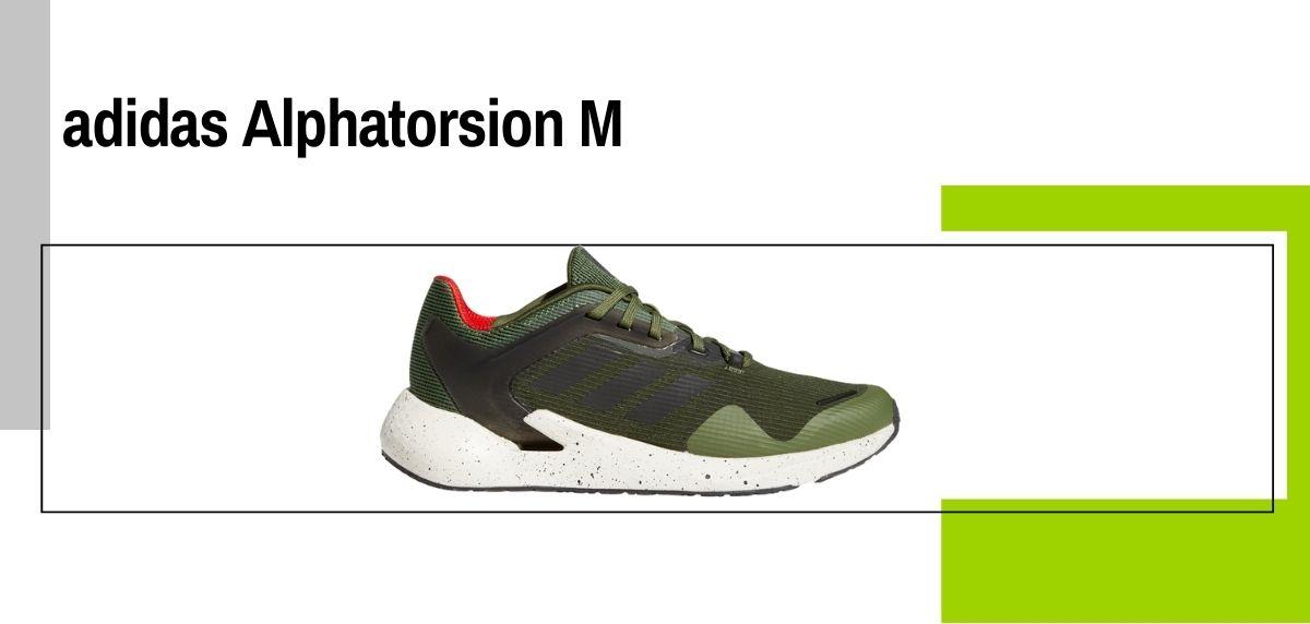 Las 18 mejores zapatillas para caminar con amortiguación, adidas Alphatorsion M