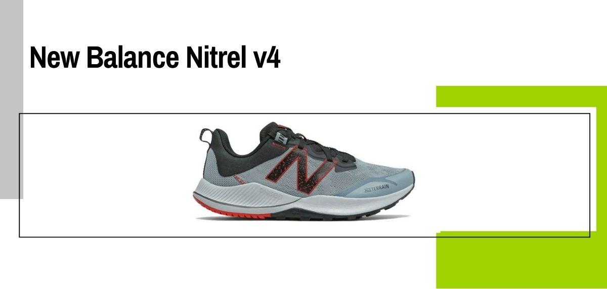 Las 18 mejores zapatillas para caminar con amortiguación, New Balance Nitrel v4