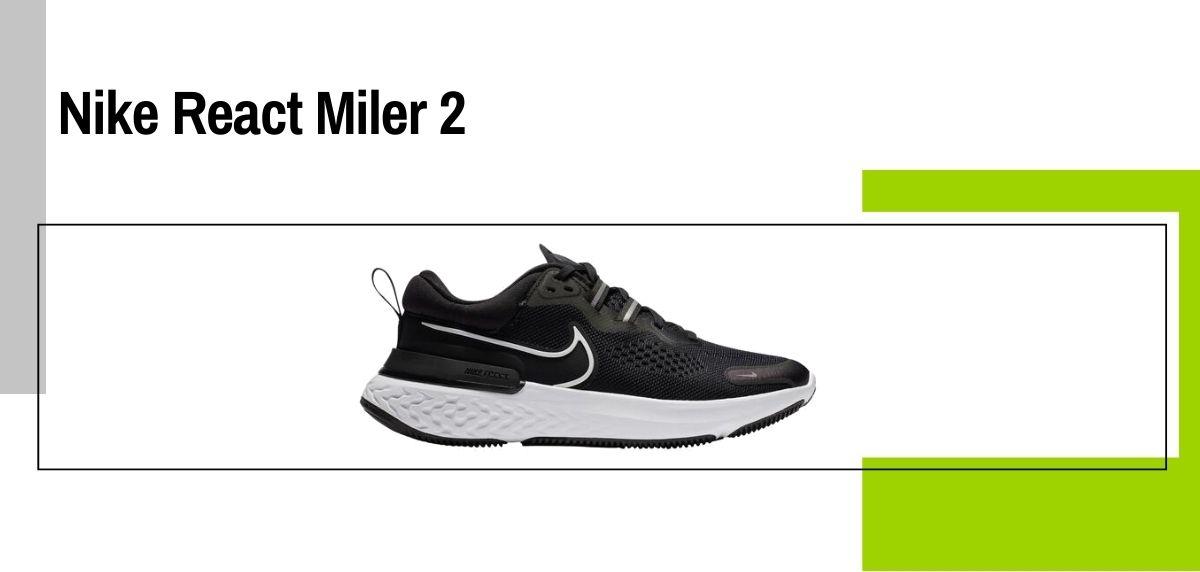 Las 18 mejores zapatillas para caminar con amortiguación, Nike React Miler 2