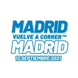Cartel - Madrid corre por Madrid 2021