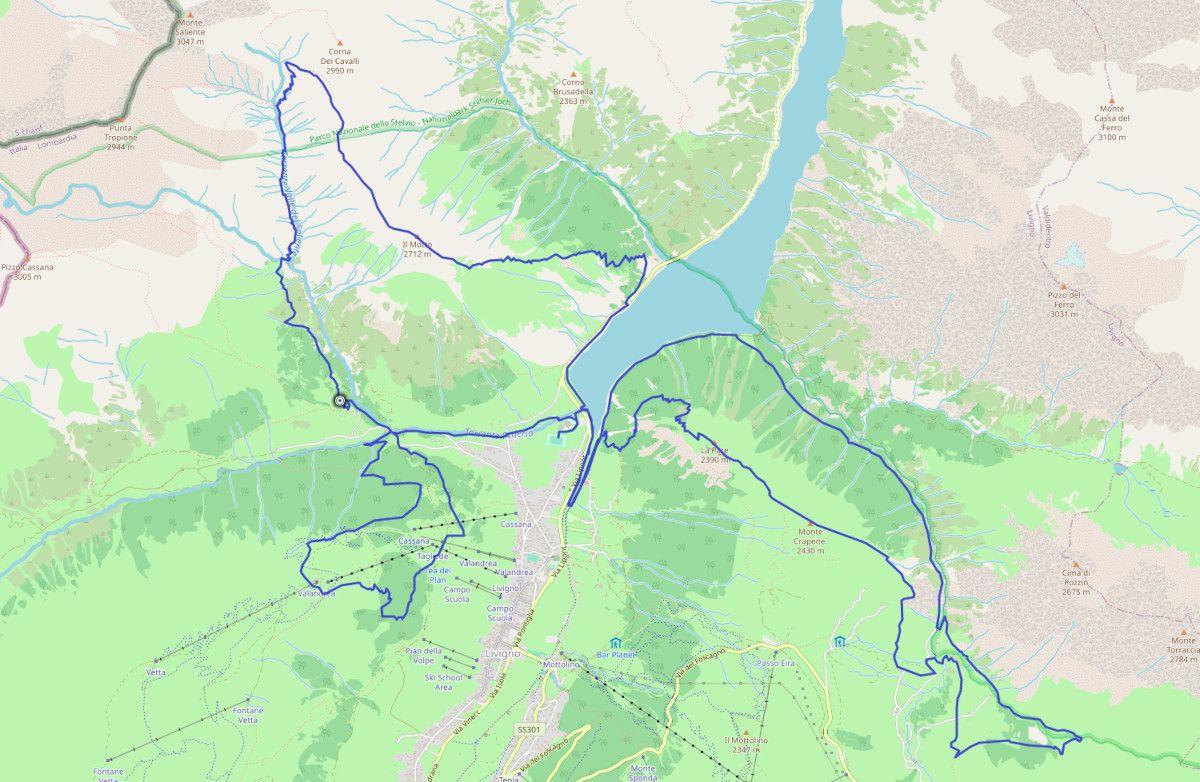 Recorrido Livigno Skymarathon 2021