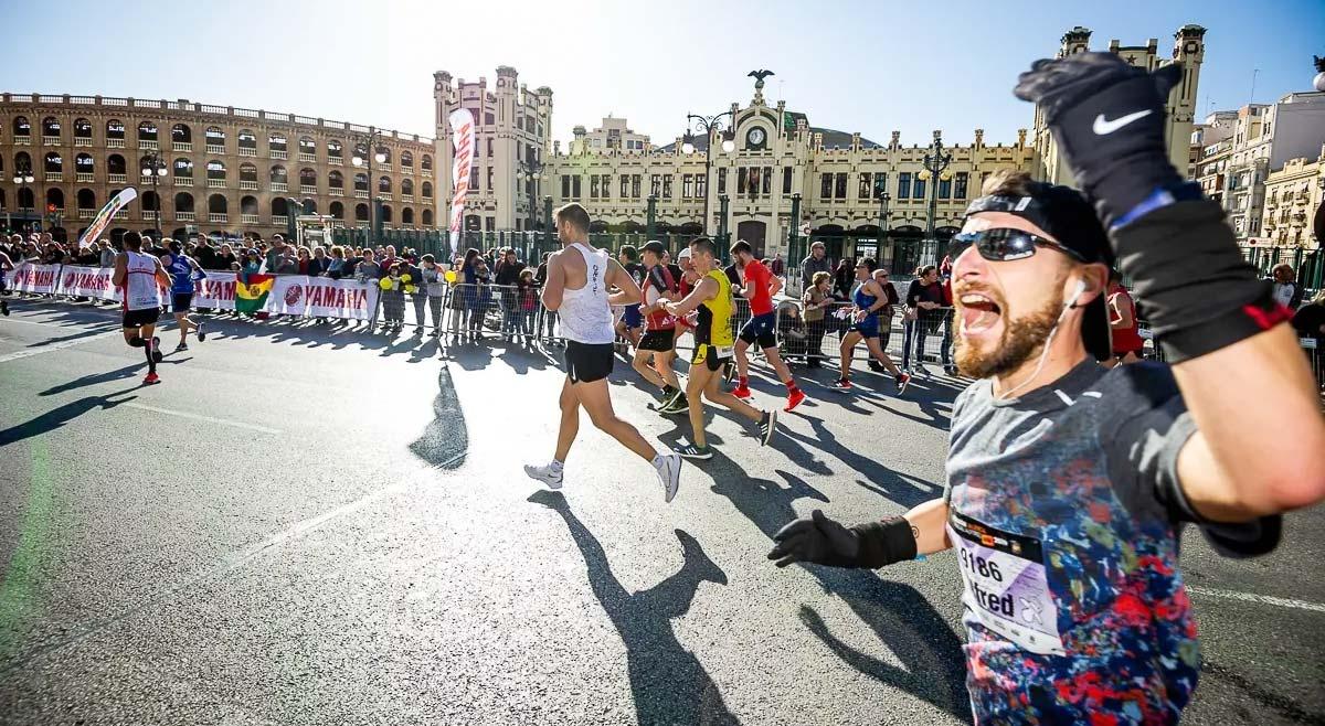 Maratón Valencia 2021, recorrido