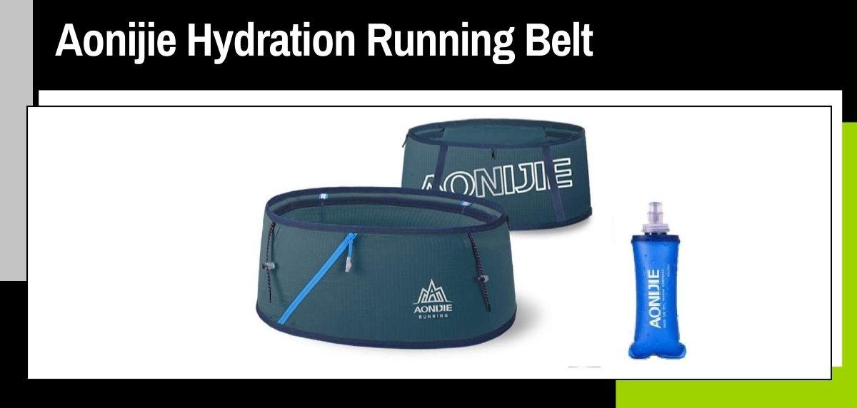 Mejores cinturones running, Aonijie Hydration Running Belt