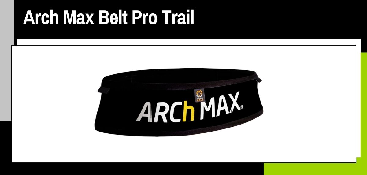Mejores cinturones running, Arch Max Belt Pro Trail