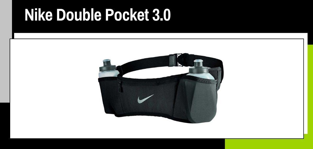 Mejores cinturones running, Nike Double Pocket 3.0