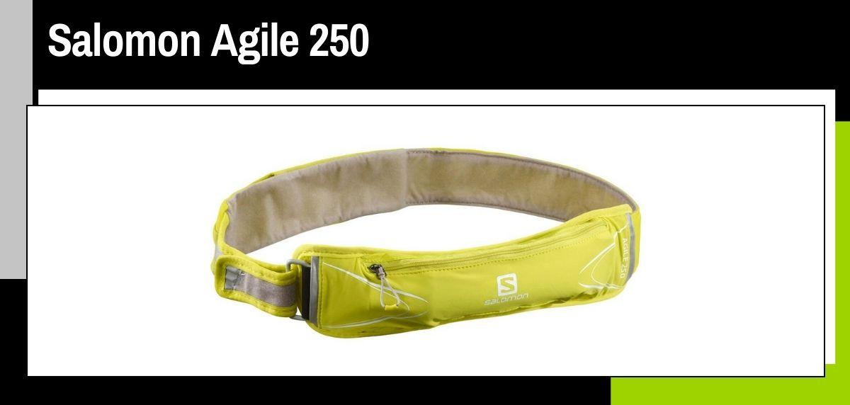 Mejores cinturones running, Salomon Agile 250