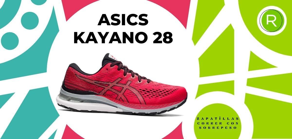 Las 15 mejores zapatillas para correr con sobrepeso, ASICS Gel Kayano 28