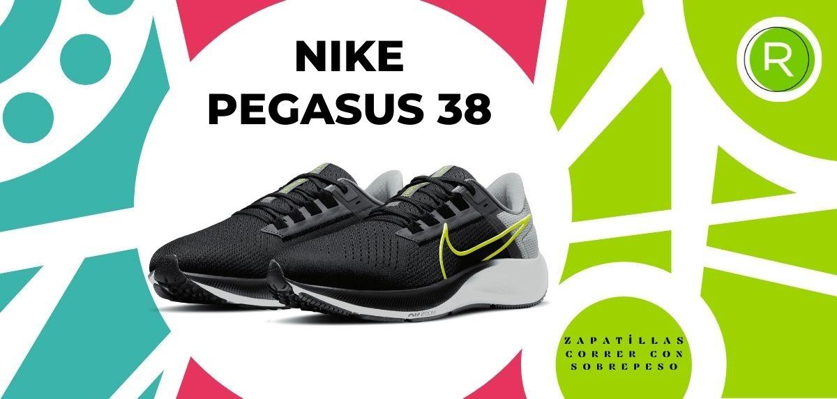 Las 15 mejores zapatillas para correr con sobrepeso, Nike Pegasus 38