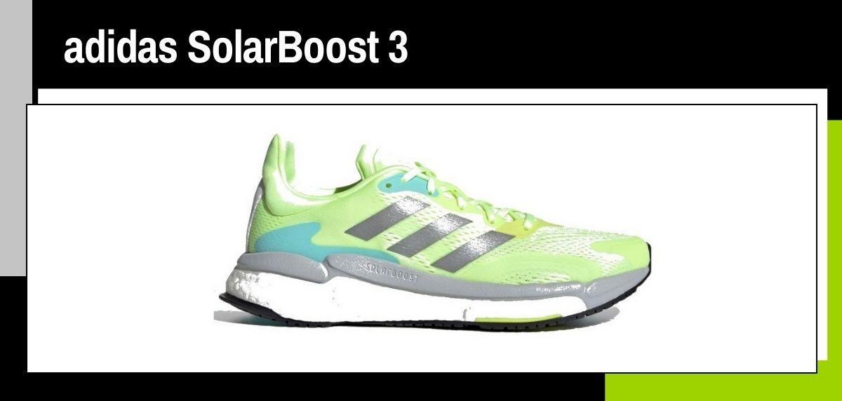 Mejores zapatillas running 2021, adidas SolarBoost 3