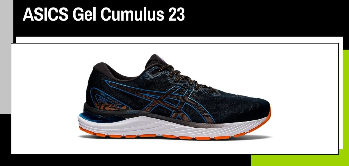 Mejores zapatillas running 2021, ASICS Gel Cumulus 23