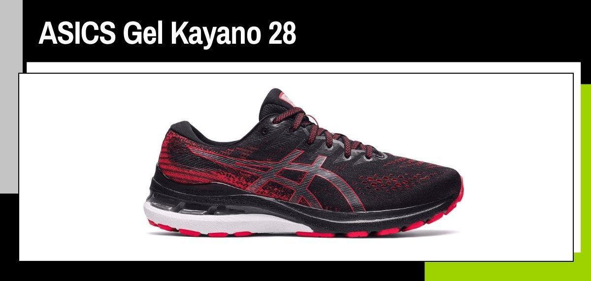 Mejores zapatillas running 2021, ASICS Gel Kayano 28