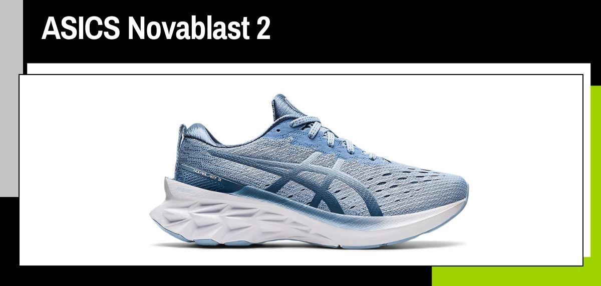 Mejores zapatillas running 2021, ASICS Novablast 2