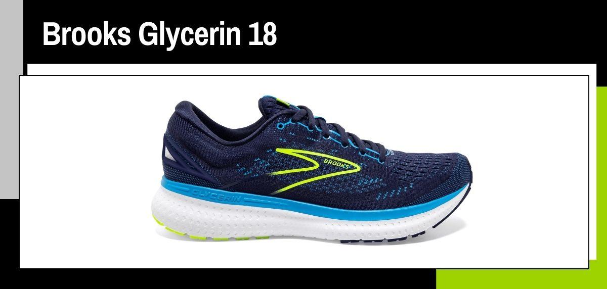 Mejores zapatillas running 2021, Brooks Glycerin 19