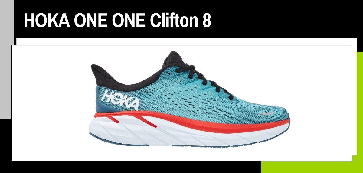 Mejores zapatillas running 2021, HOKA ONE ONE Cliton 8