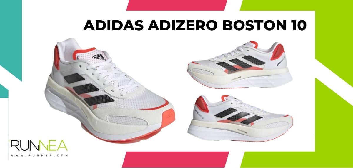 Las 16 mejores zapatillas de running para maratón, adidas Adizero Boston 10