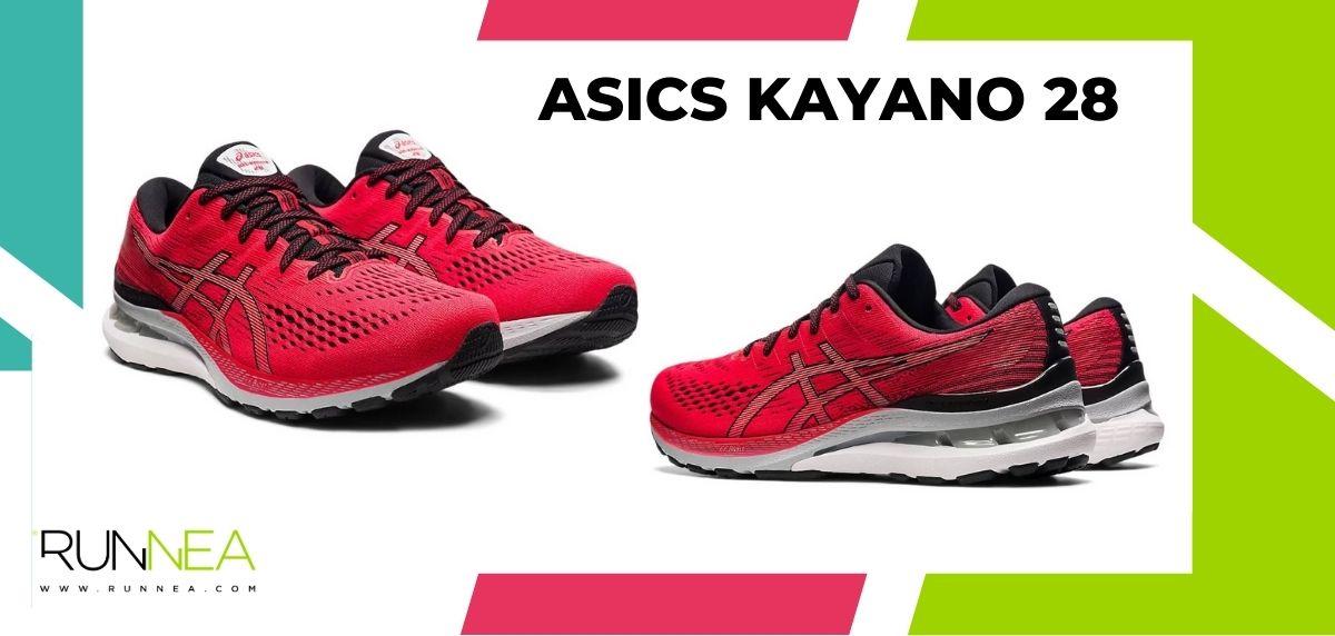 Las 16 mejores zapatillas de running para maratón, ASICS Kayano 28