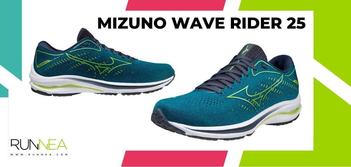 Las 16 mejores zapatillas de running para maratón, Mizuno Wave Rider 25