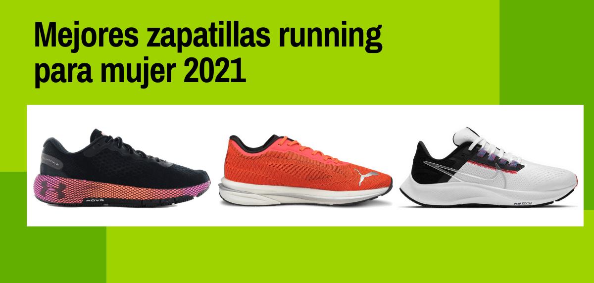 Mejores zapatillas running para mujer 2021